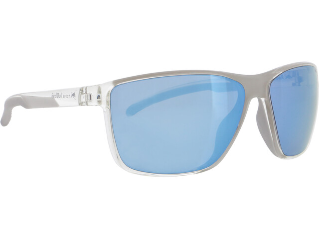 Red Bull SPECT Drift Gafas de Sol Hombre, x'tal clear/smoke with ice blue mirror polarized